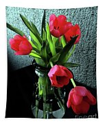 Still Life With Tulips Tapestry