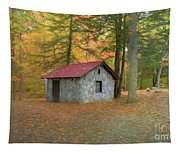 Stone Building In Autumn Tapestry
