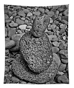 Stone Cairn I Tapestry
