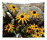 Stone Flowers Black Eyed Susan Tapestry