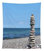 Stone Towers Tapestry
