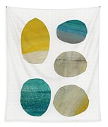 Stones- Abstract Art Tapestry