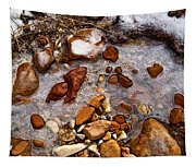 Stones And Ice Tapestry