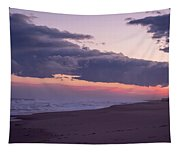 Storm Clouds At Dusk Seaside Nj Tapestry