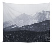 Storm Clouds On Pikes Peak Tapestry