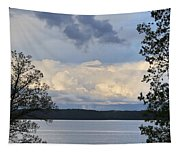 Storm Clouds Over Kentucky Lake Tapestry
