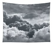 Storm Clouds Over Sheboygan Tapestry