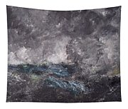 Storm In The Skerries. The Flying Dutchman Tapestry