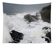 Storm On The Oregon Coast 2 Tapestry