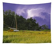 Storm Over Knott's Island Tapestry