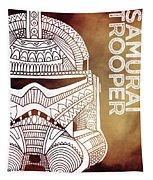Stormtrooper Helmet - Brown - Star Wars Art Tapestry
