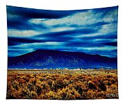 Stormy Day In Taos Tapestry