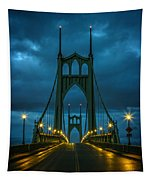 Stormy St. Johns Tapestry