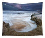 Stormy Sunrise Tapestry