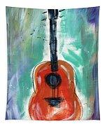 Storyteller's Guitar Tapestry