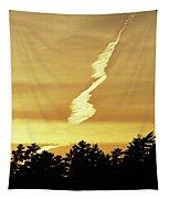 Strange Clouds At Sunset I Tapestry