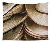 Straw Hats Tapestry