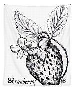 Strawberry Dreams Tapestry