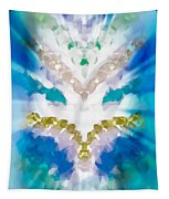 Streams Of Light In Turquoise Tapestry