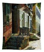 Street In New Castle Delaware Tapestry