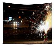 Street Lights Tapestry