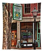 Street Signs Portland Maine Tapestry