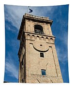 Streets Of Cesena 8 Tapestry