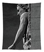 Strength B-w Tapestry