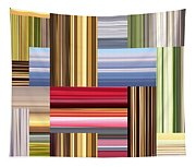 Stretch Of Colors Tapestry