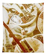 String Of Buttons Tapestry