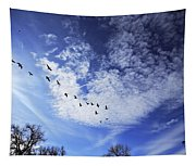 String Of Geese Tapestry