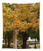 Strolling In Waterfront Park Tapestry