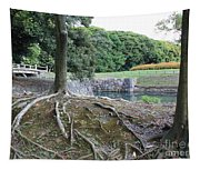 Strong Roots In Japan Tapestry