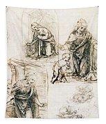Studies For Nativity Tapestry