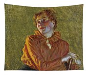 Studio Di Figura Femminile Tapestry