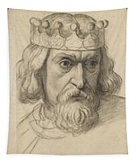 Study For The Head Of A Counsellor Tapestry