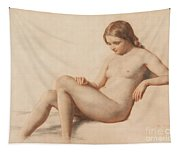Study Of A Nude Tapestry