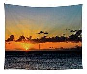Stunning Sunset Tapestry