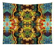 Subconscious Sacred Scrolls Tapestry