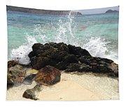 Sugar Beach Splash Tapestry