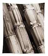Sugar Cane - Sepia Tapestry