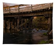 Sugar River Trestle Wisconsin Tapestry