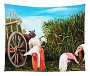 Sugarcane Worker 1 Tapestry
