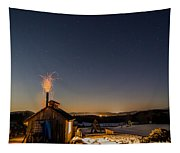Sugaring View With Stars Tapestry