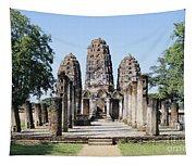 Sukhothai Khmer Sanctuary Tapestry