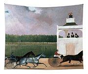 Sulky Race Tapestry