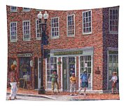 Summer Afternoon On M Street Tapestry