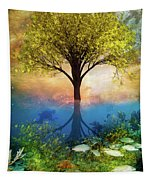 Summer At The Reef Tapestry