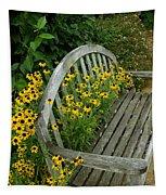 Summer Bench Tapestry