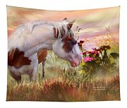 Summer Blooms Tapestry